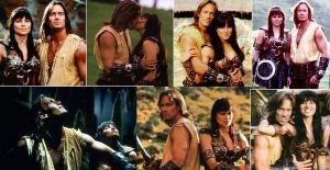 Xena and Hercules by AmeRyuu