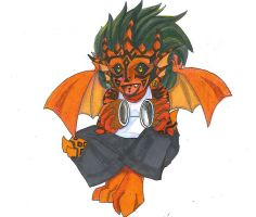Chibi Tribal: Coconuts by Alkaline-Lady