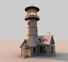 Lighthouse by cr8g