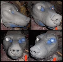 2012 wolf sculpt by Sharpe19