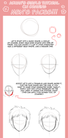 Tutorial: Draw boy's faces by Aduah