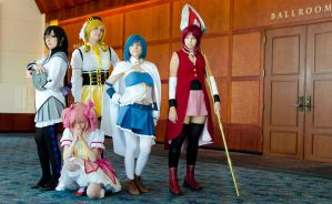 The Magical Girls by NicolaiAndrews