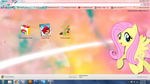 FiM: Fluttershy Google Chrome Theme by M24Designs