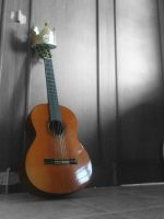 the guitar miss his king by deel-syahrizki