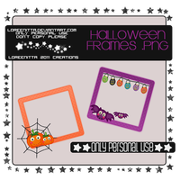 Frames Halloween by Loreenitta
