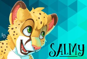 Salmy MFF badge by pandapaco