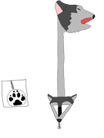 Great Howl Keyblade by Wolf-Prince-Leon