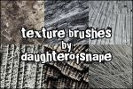Texture Brushes by daughterofsnape