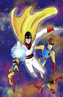 Hanna Barbara: Space Ghost by KarToon12