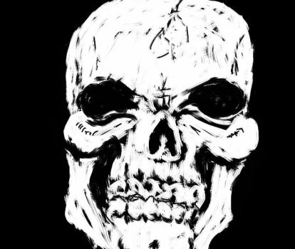 Day 2 SKULL by Mrmuppet