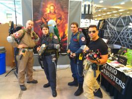 NF Comicon : Ghostbusters by TheWarRises