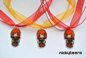 Paramore Hayley Necklace by NickyToons