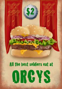 Orcys Orc Burgers by charligal