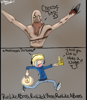 Cheese Tits!!! Pewdie Comic by xTrippingOnYoux