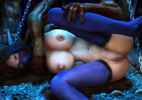 Halloween Lovers by 3dbabes