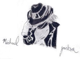 Michael Jackson--Charcoal by lilybadilly25