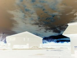 Negative Sky and building by vbcsgtscud
