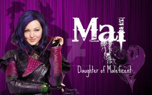 Disney Descendants - Mal, daughter of Maleficent by KariaHearts56789