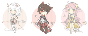 Sketchy Adopt Batch AUCTION [CLOSED] by youimi