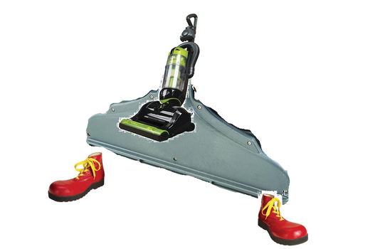 vac shoe by Roomba550