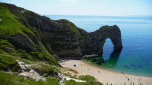 Durdle Door by aberlioness