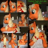 Finished Applejack 39in tall plushie by LilWolfStudios