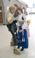 FFX - Tidus and Yuna by Fallen--Angel