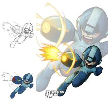 Megaman 2014 by RecklessHero