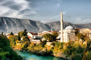 Mosque in Mostar by Robalka