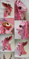 Radiant Raspberry custom pony by Woosie