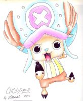 Chopper Fan art by Meroty