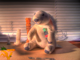 Coke Bear HDR by shilpinator