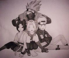 Team 7 - Shippuuden Version I by maiisalex