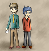 Ivan and andrew by alex982