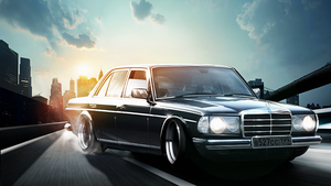 Merceds w123 by AS001