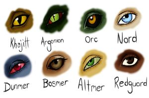 Eyes.Of.Skyrim. by RavenJeanGrey