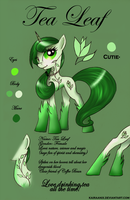 Tea Leaf -  Reference Sheet by KairaAnix