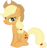 Applejack PNG not final by leopurofriki