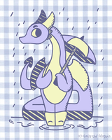It's Rainy by OEmilyThePenguinO