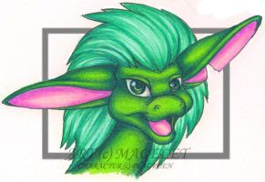 Giftart for Peagreen by Magelet
