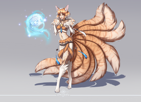 [LOL] - This is not Ahri - Custom skin by dNiseb