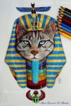 Egyptian Cat by itsalana