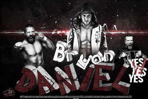 Daniel Bryan YES! Wallpaper by SoulRiderGFX