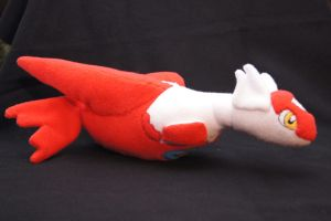 Latias Plush side 2 by Rammgirl30