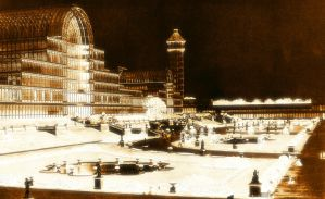 Golden Crystal Palace by Tux-t-penguin