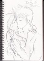Bella and Edward doodle by ozozo