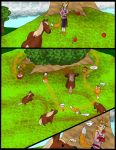 Wolf vs Horse pg 2 by kingofthedededes73