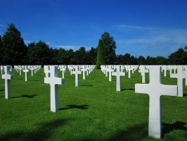 American Cemetary - Two by treoni