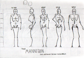 The Mannequin by TheLamadude
