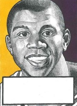 Earvin 'Magic' Johnson by JRosales1